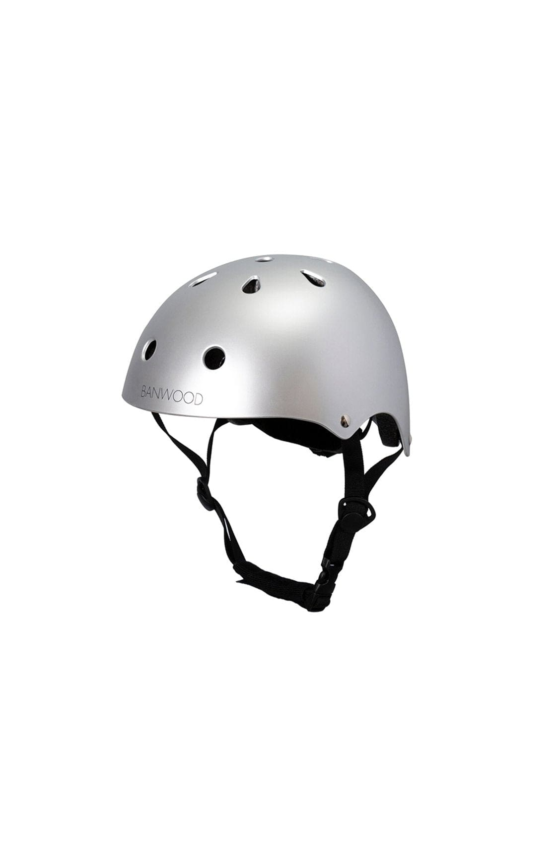 BANWOOD CLASSIC HELMET MATTE CHROME - Hello Little Birdie