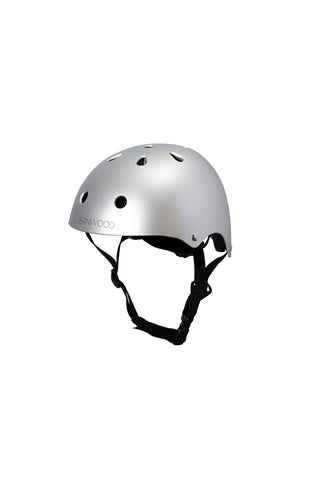 BANWOOD CLASSIC HELMET MATTE CHROME (PRE-ORDER NOV) - Hello Little Birdie