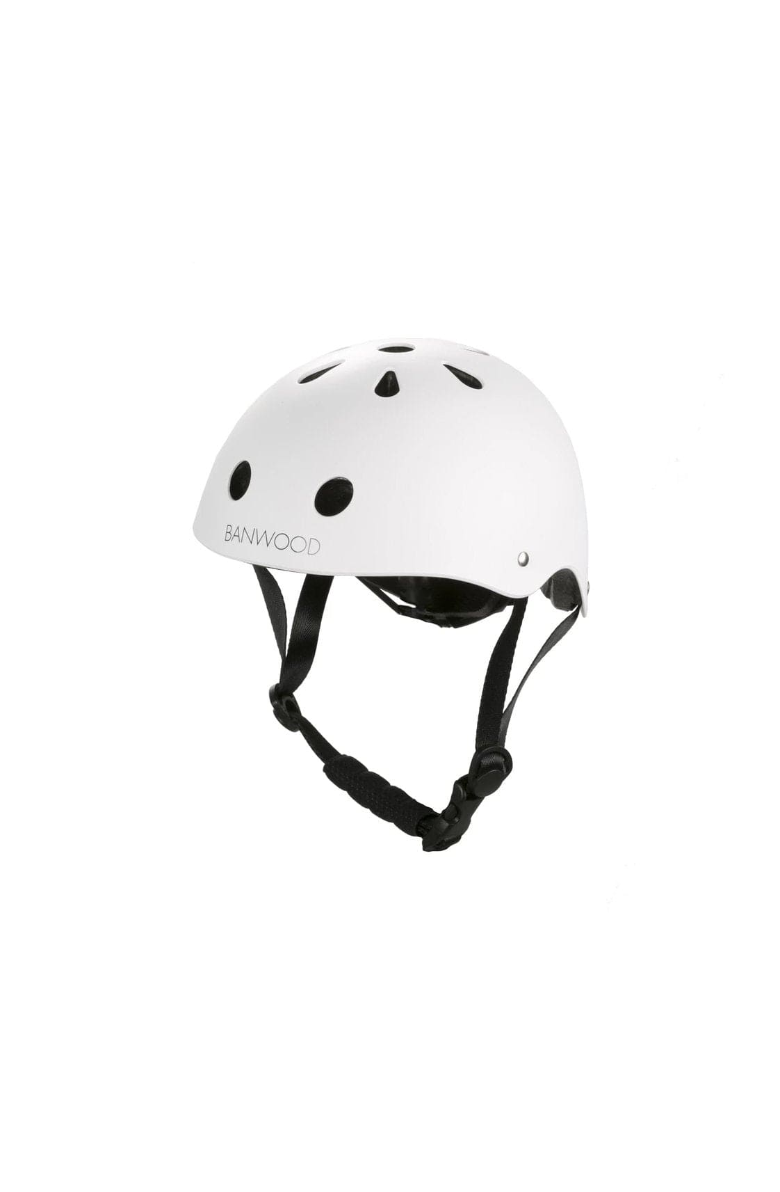 BANWOOD CLASSIC HELMET MATTE WHITE - Hello Little Birdie