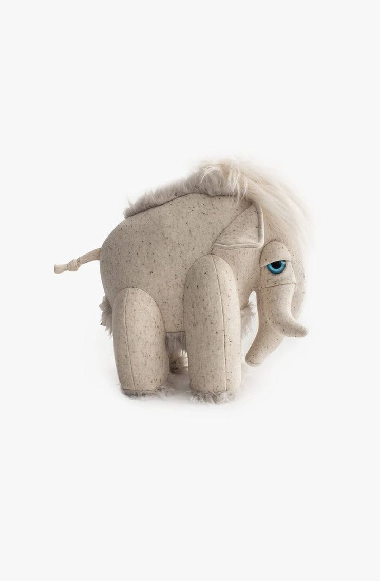 BigStuffed Small Albino Mammoth - Hello Little Birdie