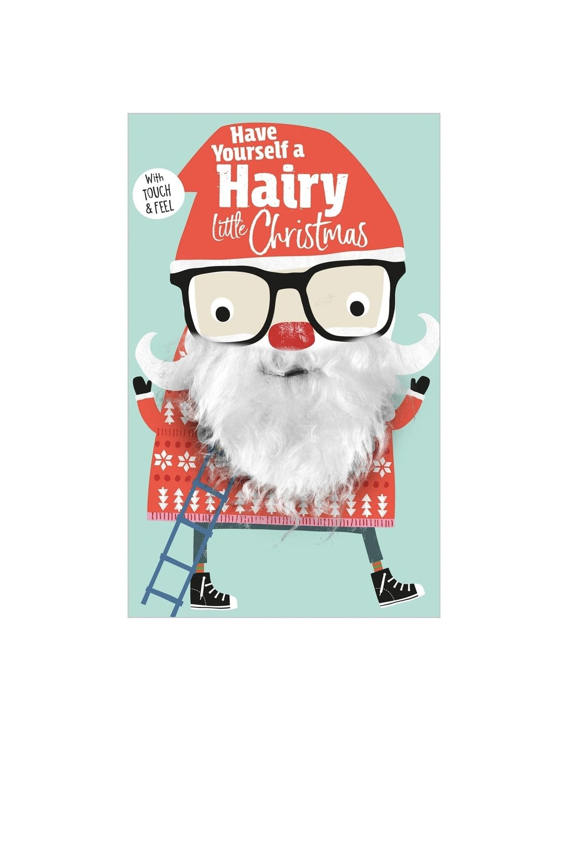 Have Yourself A Hairy Little Christmas - Hello Little Birdie