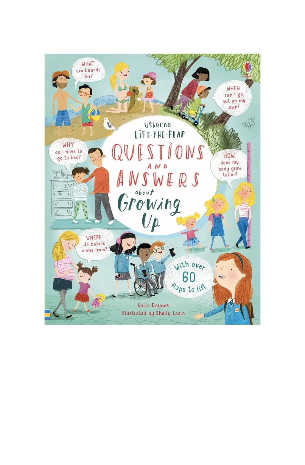 Lift-the-Flap Questions & Answers About Growing Up - Hello Little Birdie