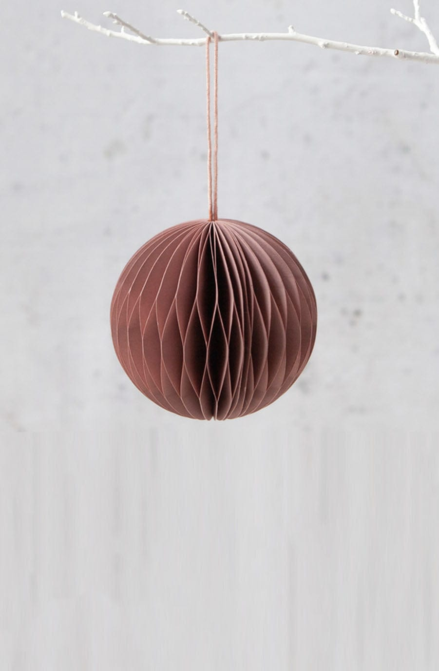 Down To The Woods, Honeycomb Ball in Clay Pink - Hello Little Birdie