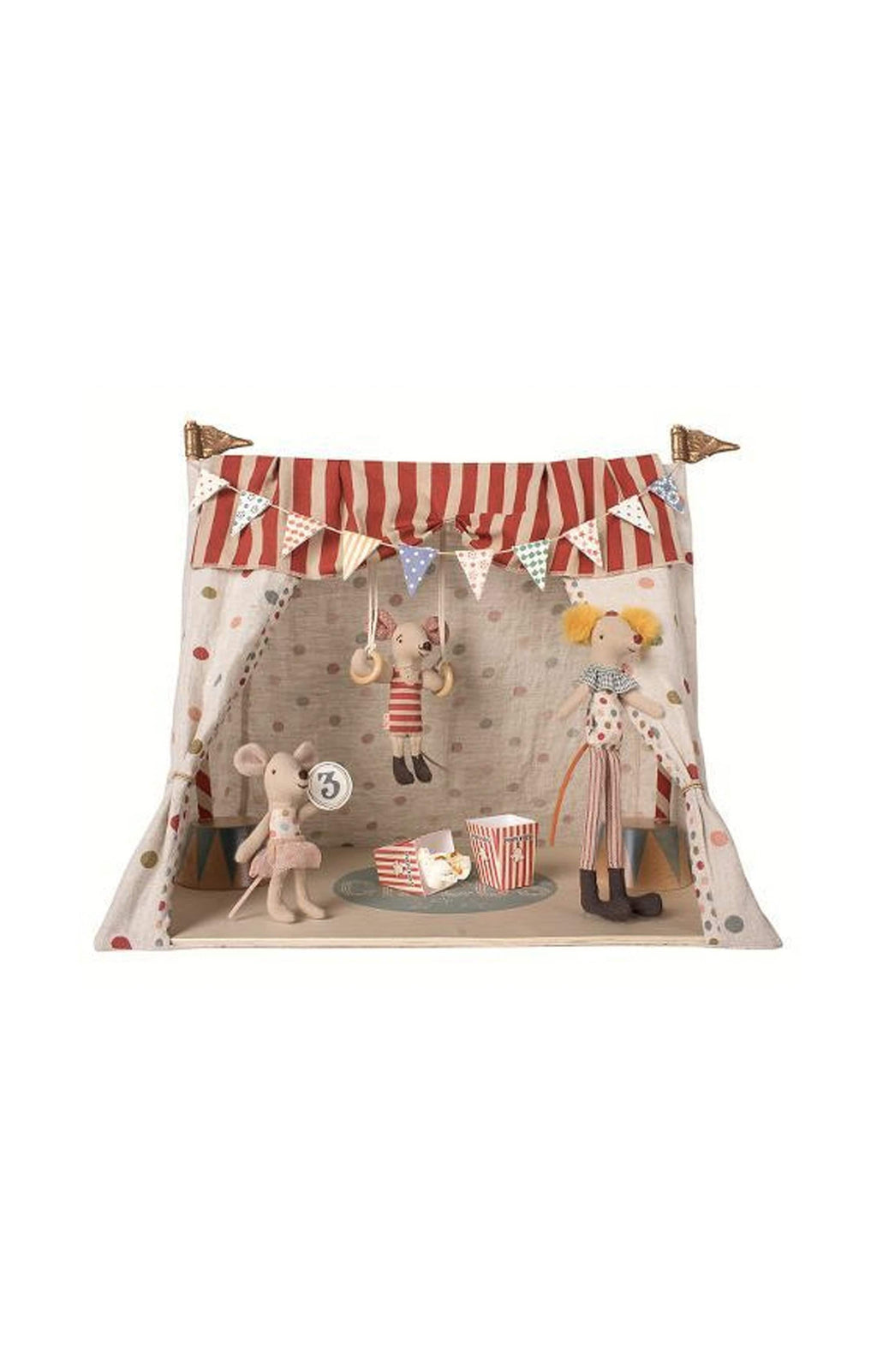 MAILEG CIRCUS TENT WITH MICE