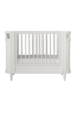 Incy Interiors Georgia White Cot (PRE-ORDER APRIL) - Hello Little Birdie