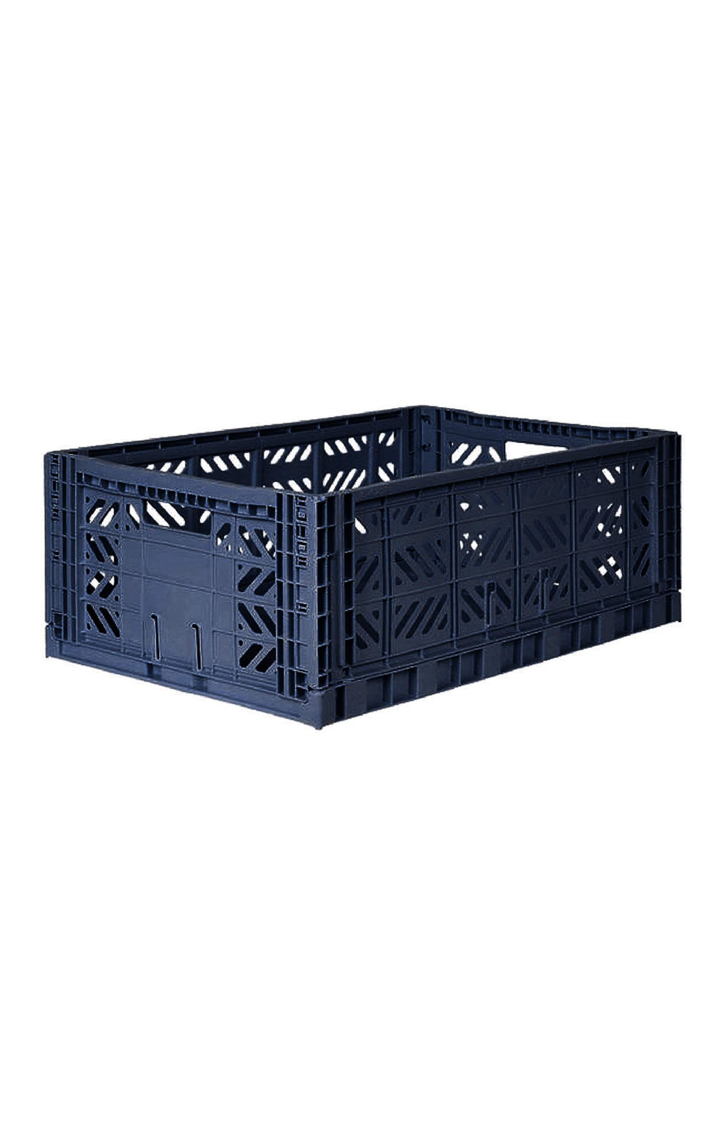 AYKASA MAXI BOX Storage Crate, Navy - Hello Little Birdie
