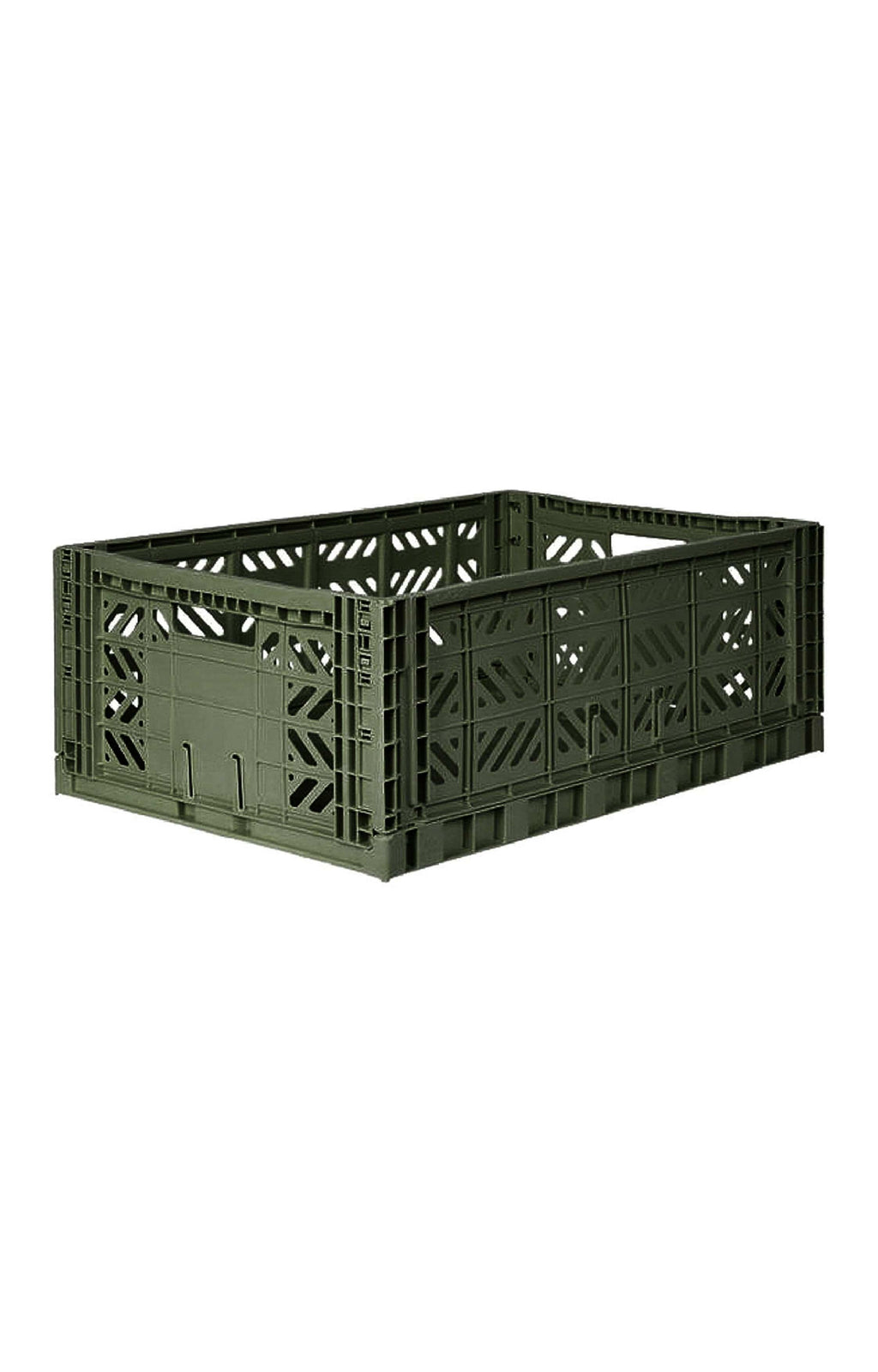 AY-KASA MAXI BOX Storage Crate, Khaki (PRE-ORDER MARCH) - Hello Little Birdie