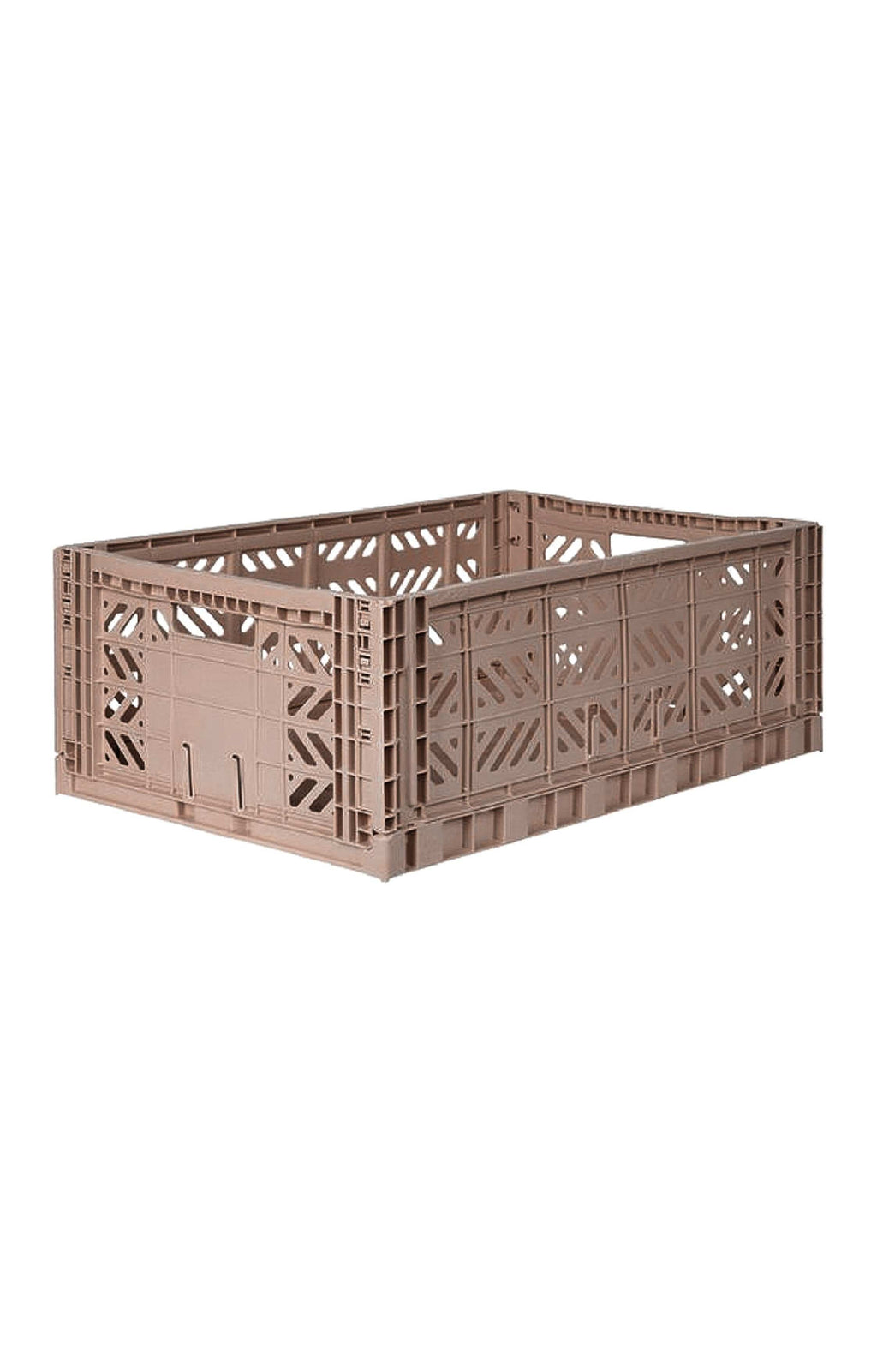 AYKASA MAXI BOX Storage Crate, Warm Taupe - Hello Little Birdie