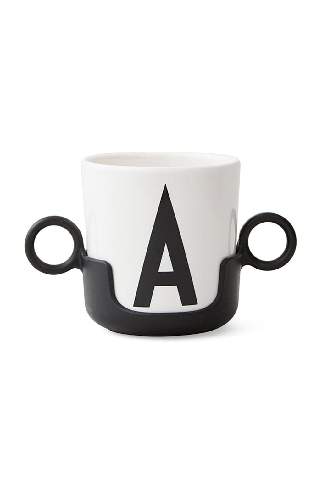 DESIGN LETTERS Handle for Cup, Black - Hello Little Birdie
