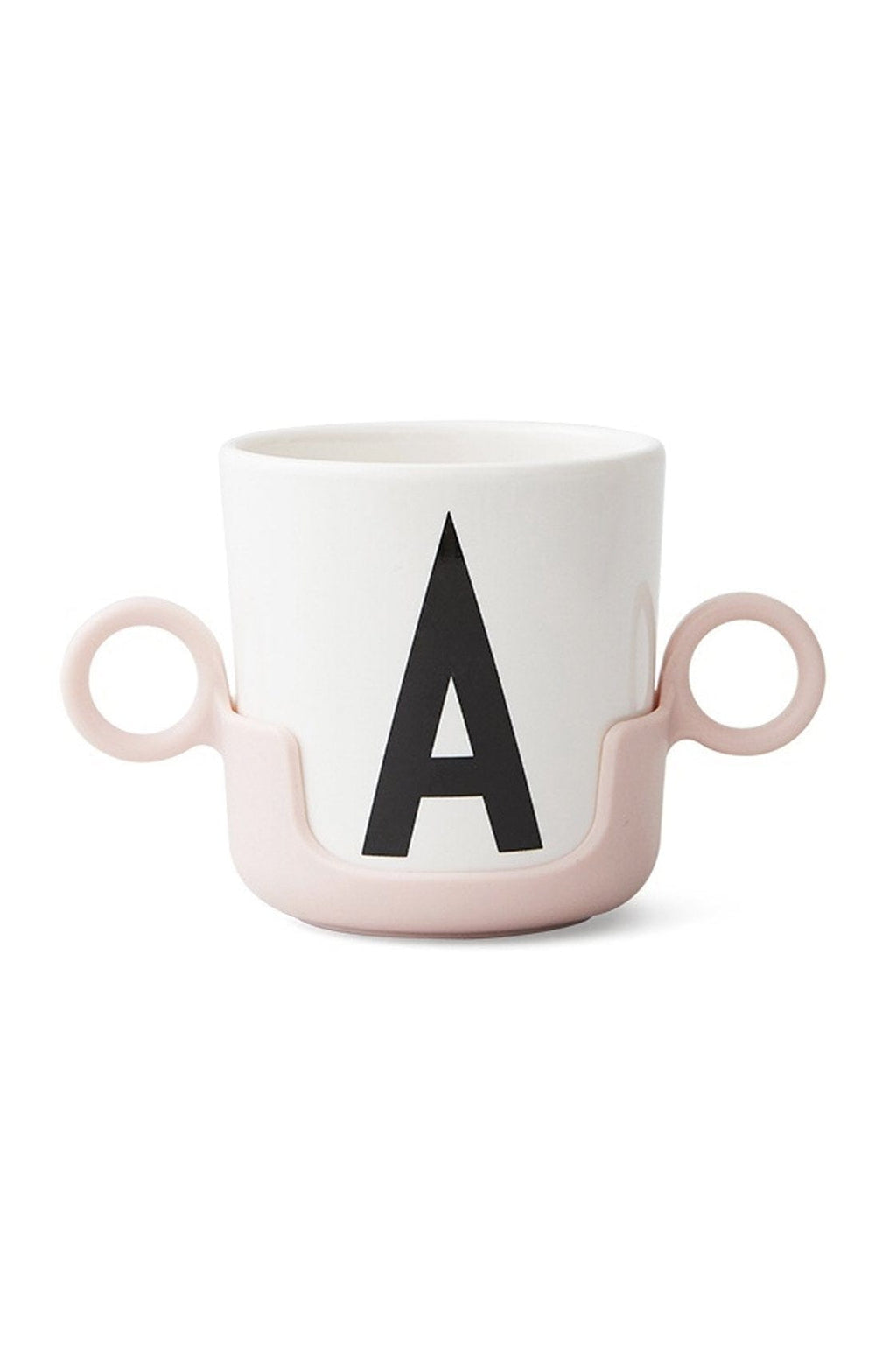 DESIGN LETTERS Handle for Cup, Pink - Hello Little Birdie