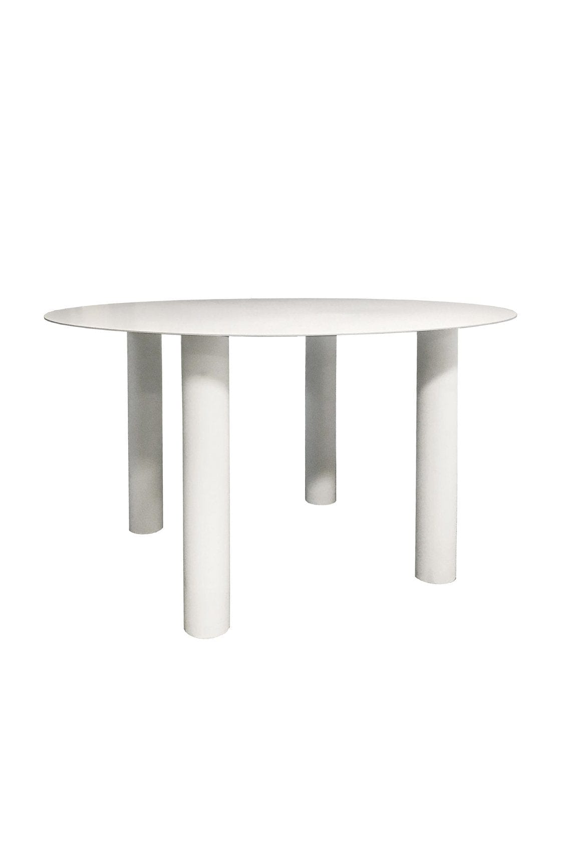Brutus Dining Table White - Hello Little Birdie