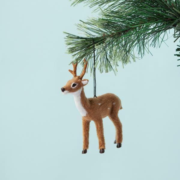 Down To The Woods, Reindeer Decoration Natural - Hello Little Birdie
