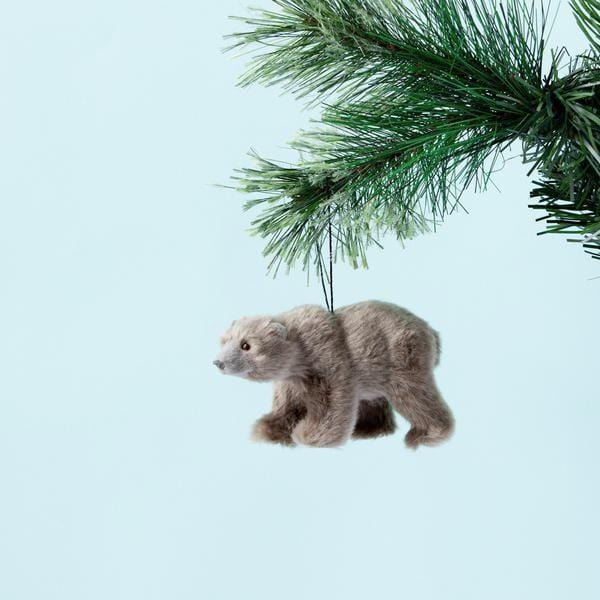 Down To The Woods, BEAR HANGING GREY (PRE-ORDER NOV) - Hello Little Birdie