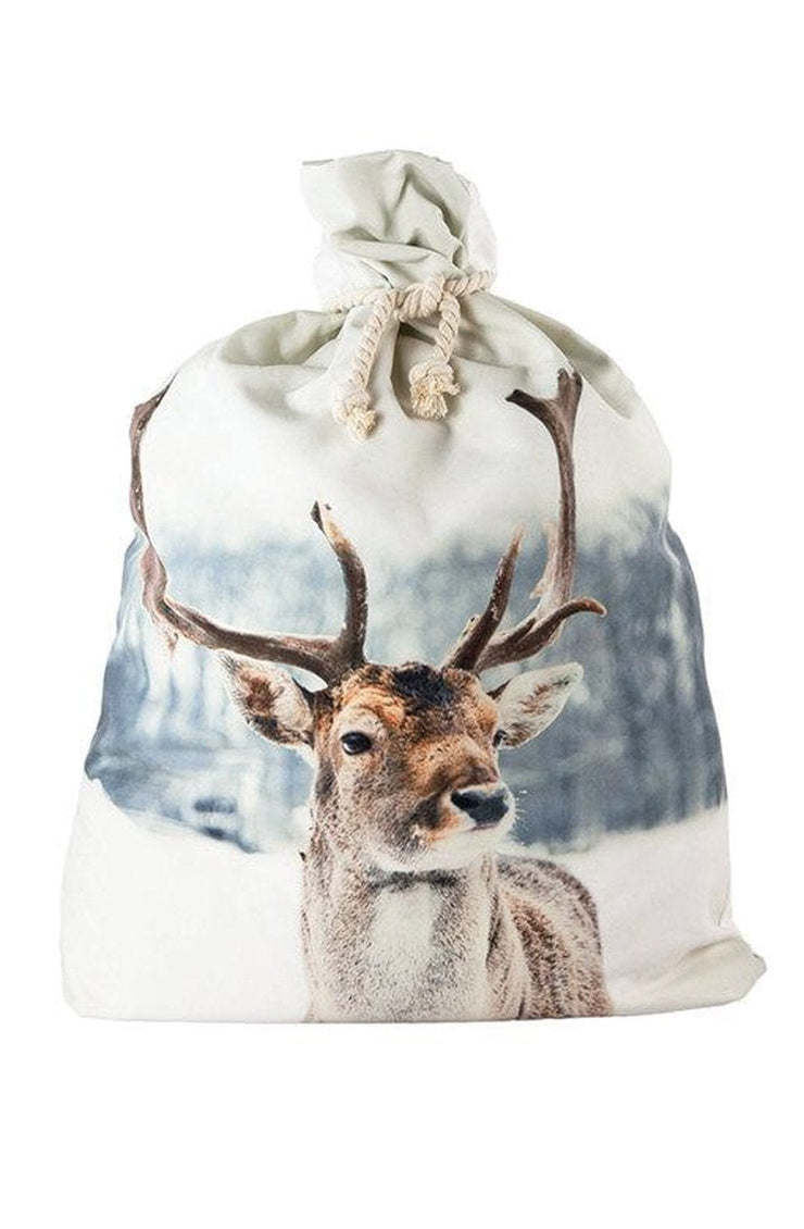 Down To The Woods, Santa Sack Snow Reindeer - Hello Little Birdie