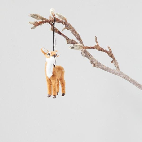 Down To The Woods, Fawn Decoration Natural - Hello Little Birdie