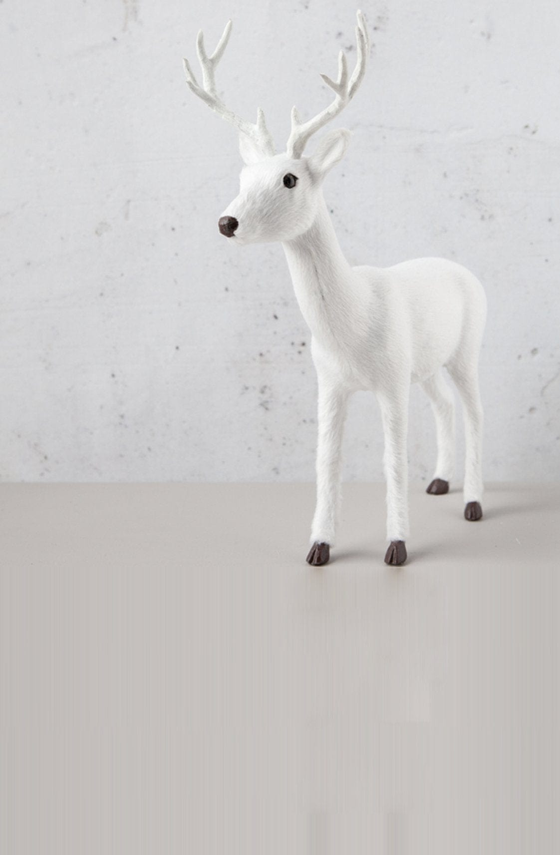 Down To The Woods, Table Reindeer White - Hello Little Birdie