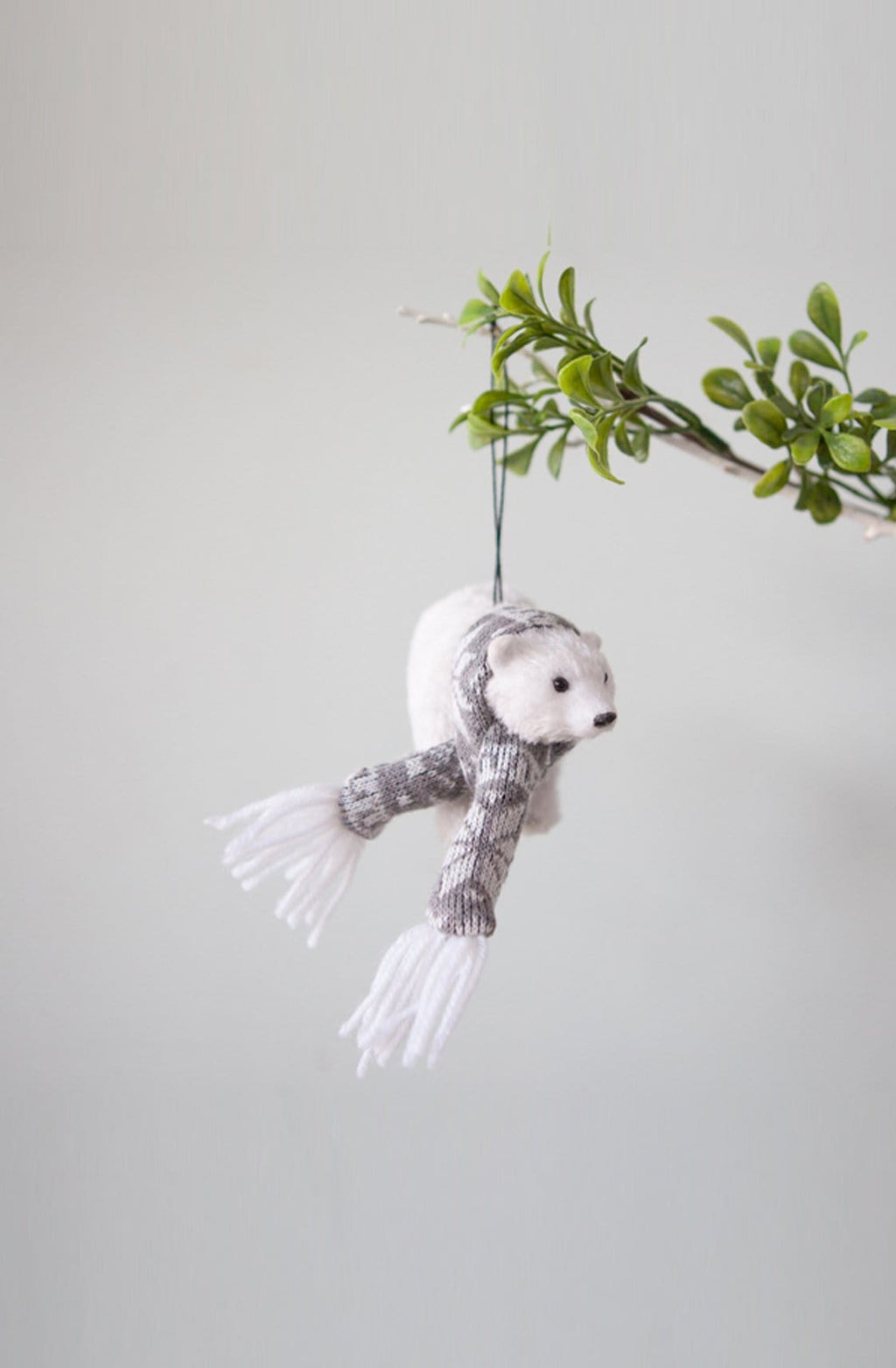Down To The Woods, Polar Bear with Scarf - Hello Little Birdie