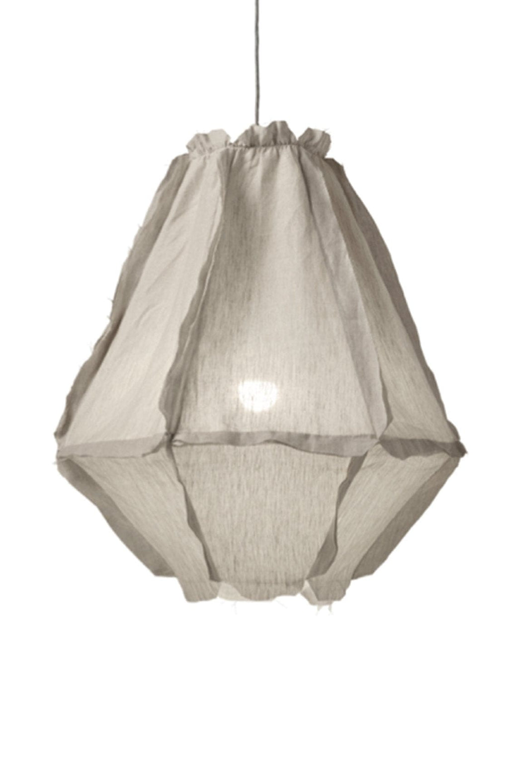 ENOKI CUMULUS PENDANT LIGHT LINEN - Hello Little Birdie