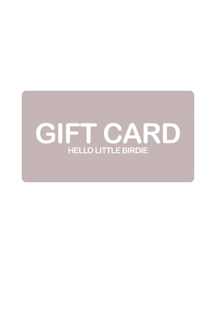 E-Gift Card - Hello Little Birdie