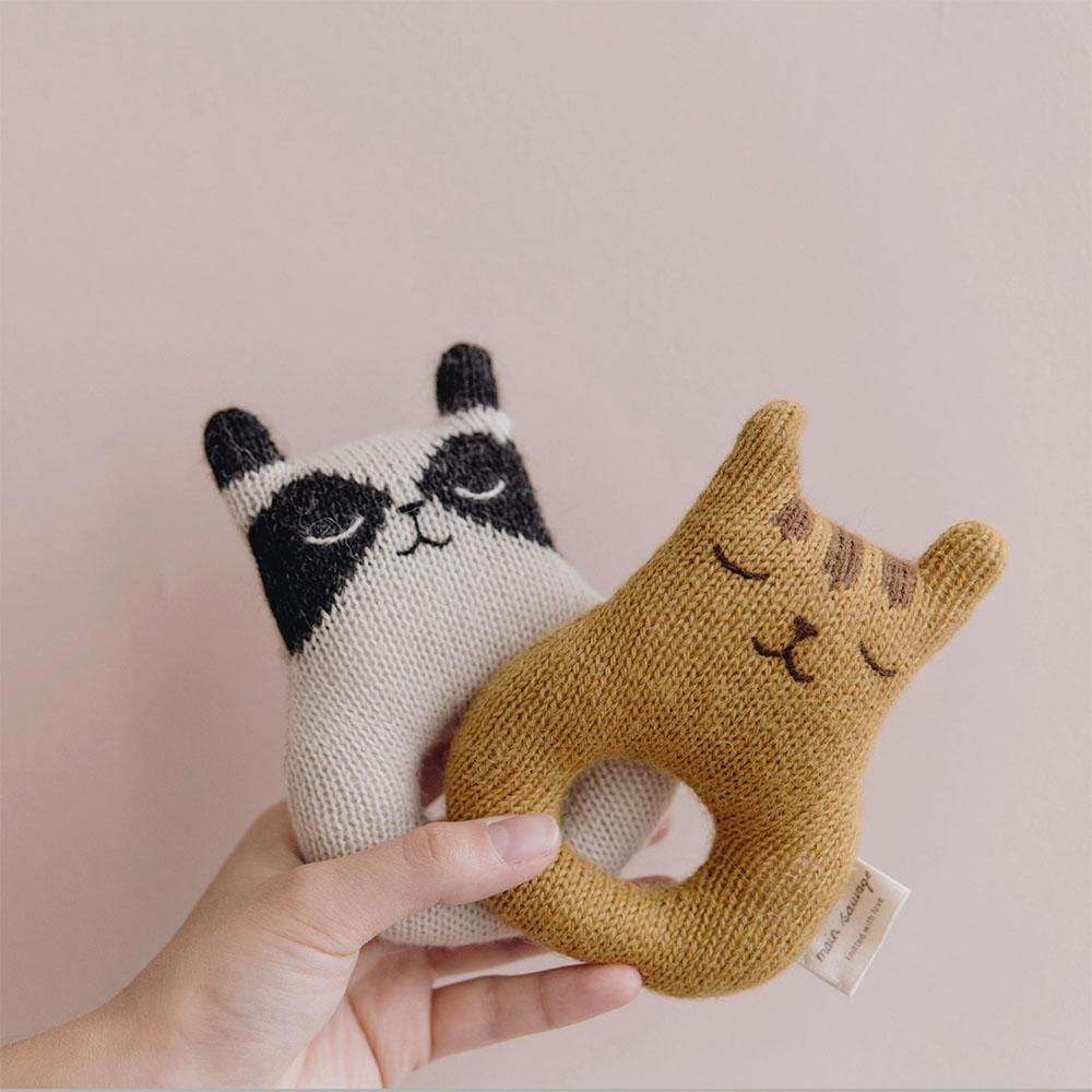 Main Sauvage Raccoon Rattle (Pre-Order Feb)