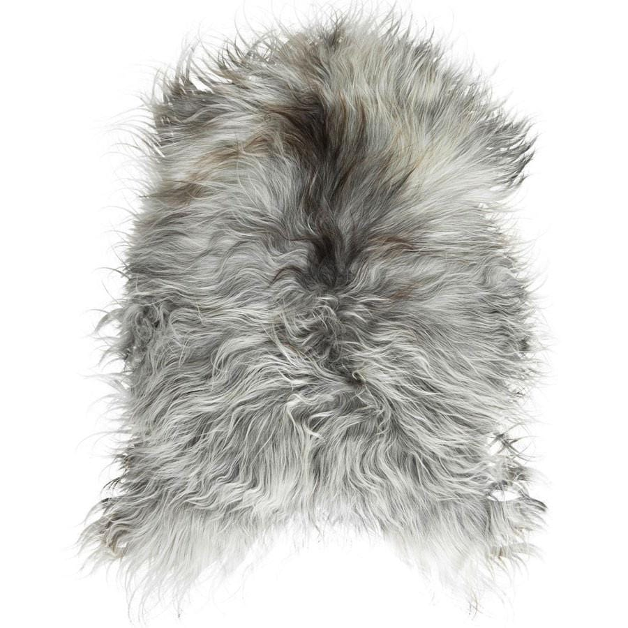 Icelandic Sheepskin Rug, Natural Grey - Hello Little Birdie