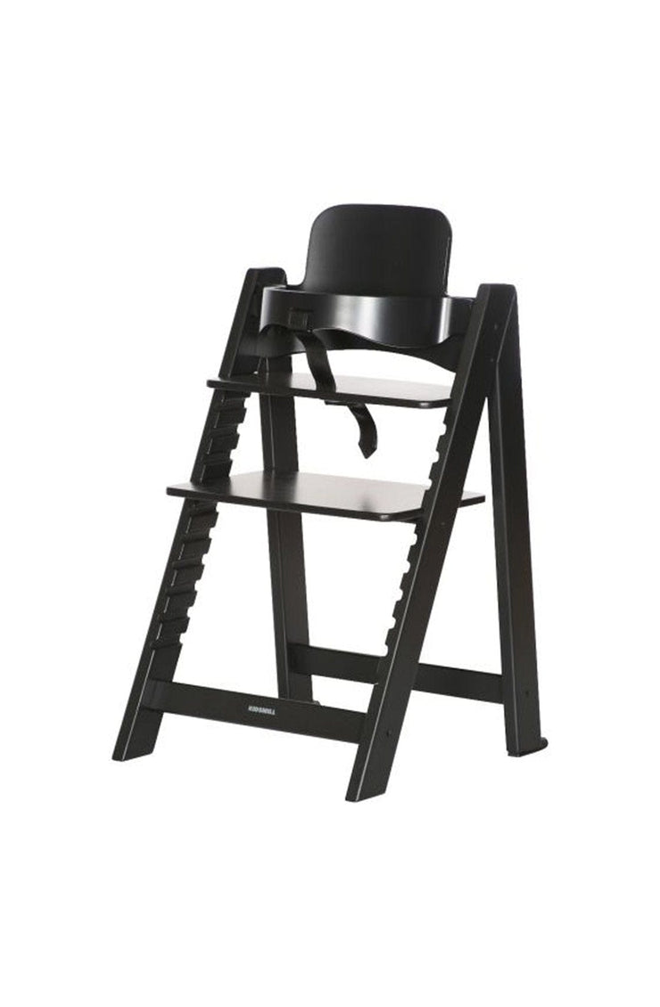 Kidsmill Up! Highchair + Baby Set, Black - Hello Little Birdie