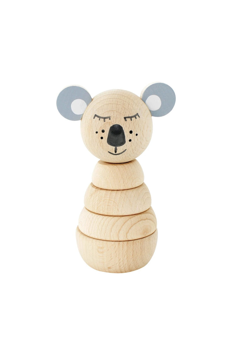 Miva Vacov Wooden Stacking Puzzle Koala, Sydney - Hello Little Birdie