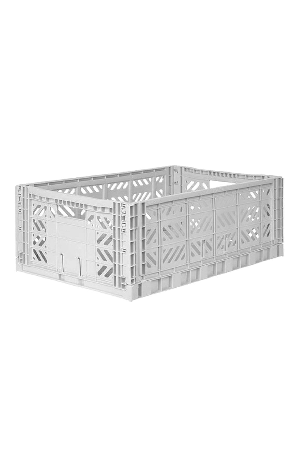 AYKASA MAXI BOX Storage Crate, Light Grey - Hello Little Birdie