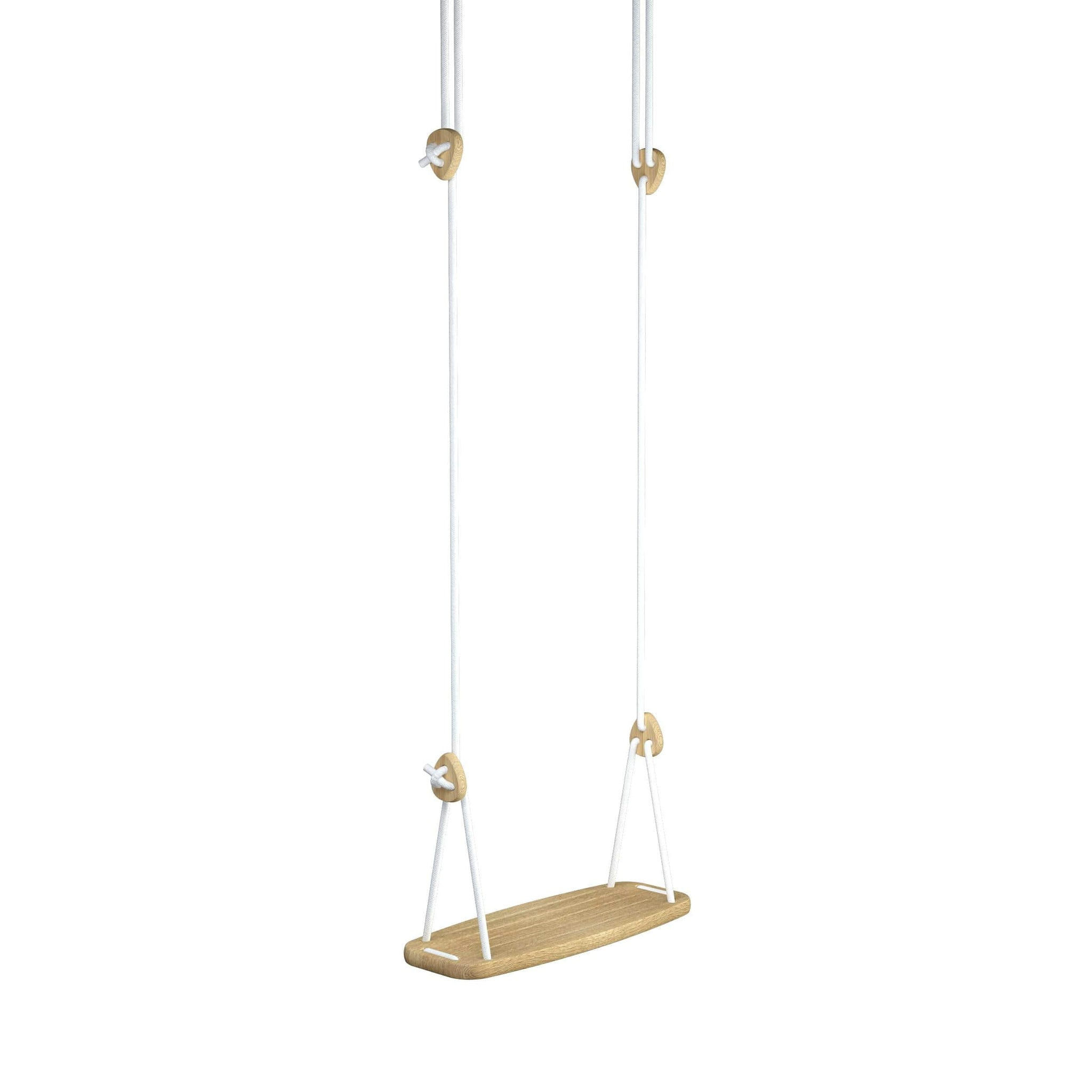 LILLAGUNGA CLASSIC SWING, OAK, GREY ROPES - Hello Little Birdie