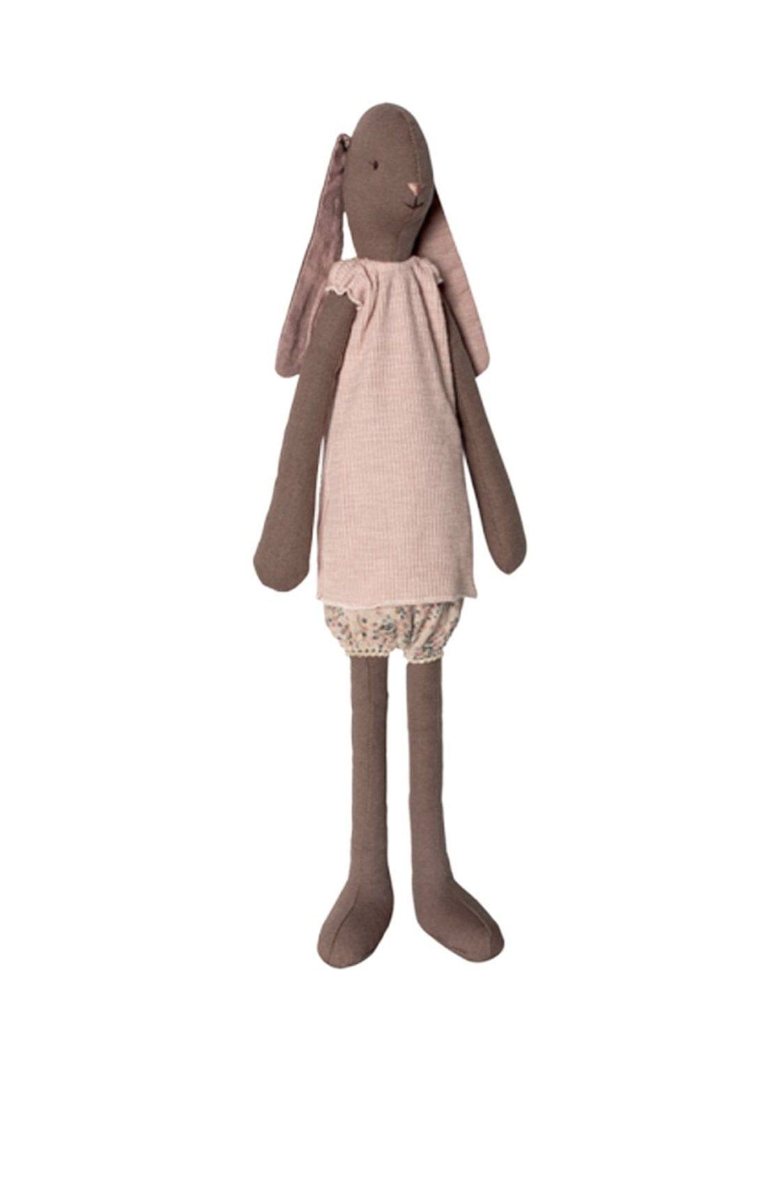Maileg Medium Bunny Girl, Brown - Hello Little Birdie