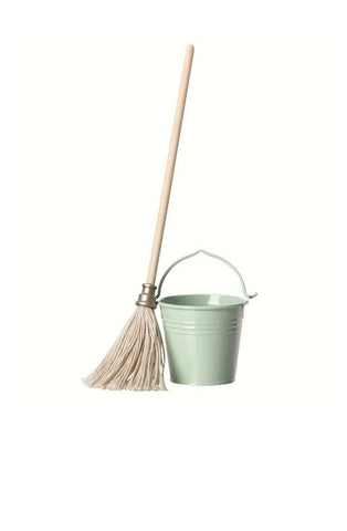 MAILEG Bucket and Mop - Hello Little Birdie