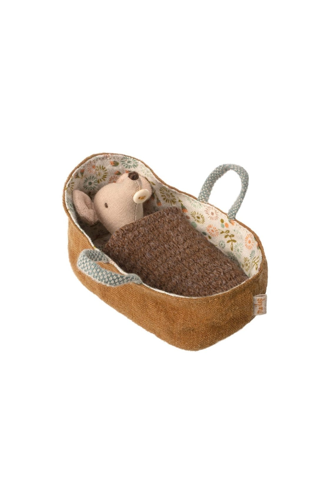 Maileg Mouse Baby in carrycot - Hello Little Birdie