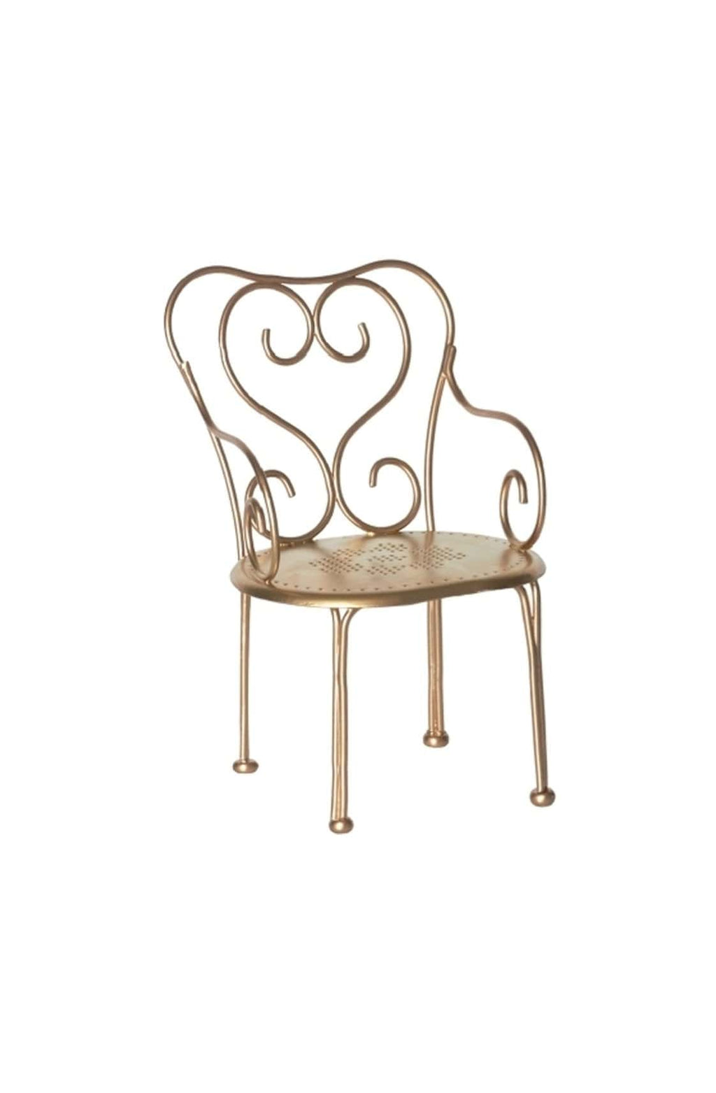 Maileg Gold Vintage Chair - Hello Little Birdie