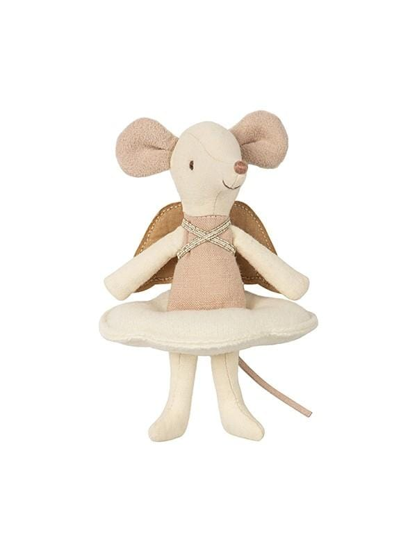 Maileg Angel Mouse Big Sister in Book