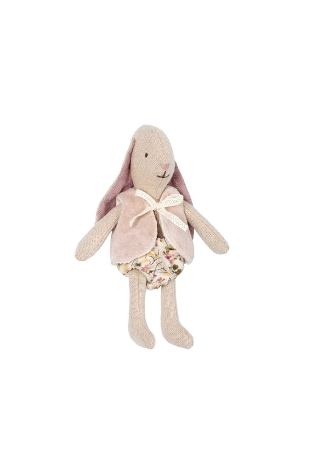 Maileg Bunny micro with vest - Hello Little Birdie