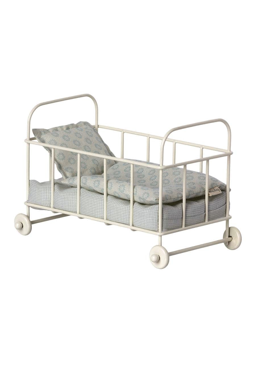 Maileg Furniture - Metal Baby Cot