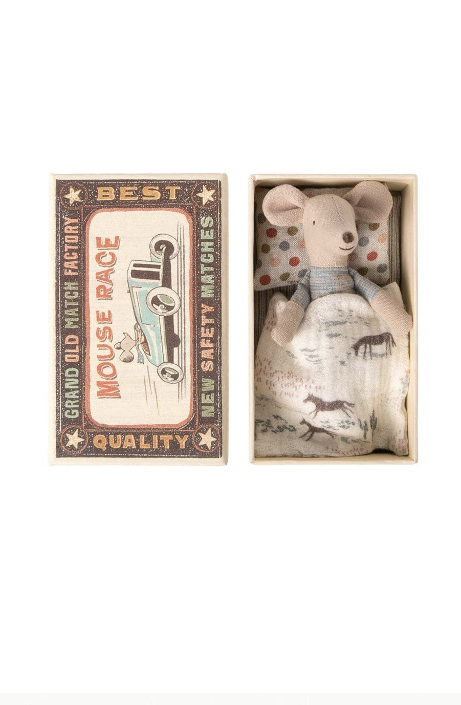 Maileg Little Brother Mouse in box - Hello Little Birdie