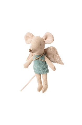 MAILEG FAIRY MOUSE DUSTY DUSTY BLUE - Hello Little Birdie