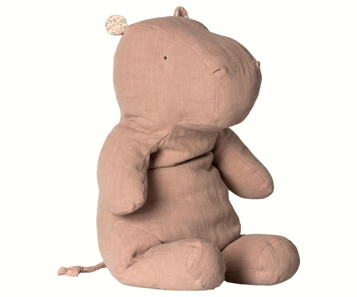 Maileg Large Hippo, Dusty Rose (PRE-ORDER JUNE) - Hello Little Birdie