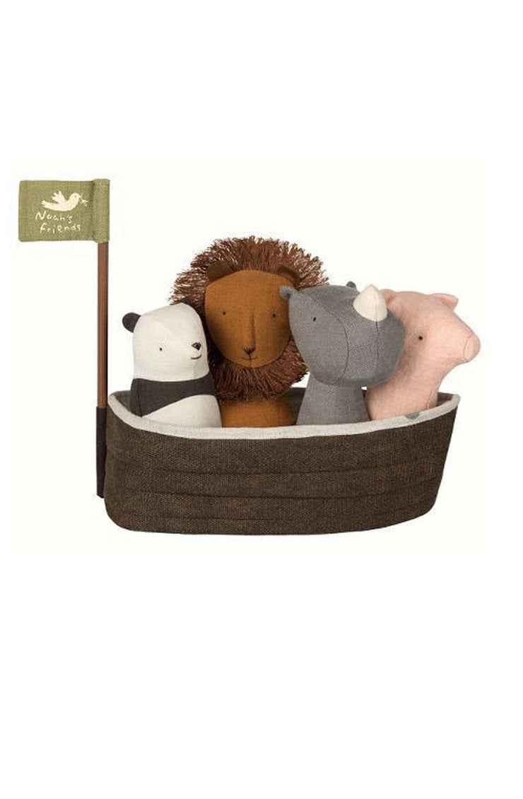 Maileg Noahs Ark with 4 Rattles - Hello Little Birdie