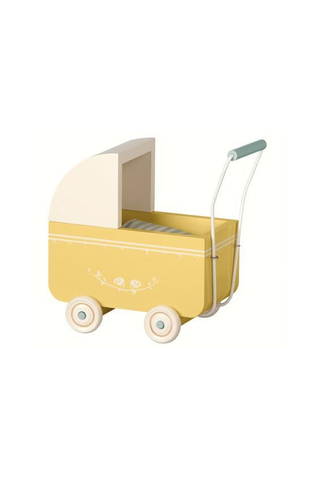 Maileg PRAM YELLOW MICRO - Hello Little Birdie