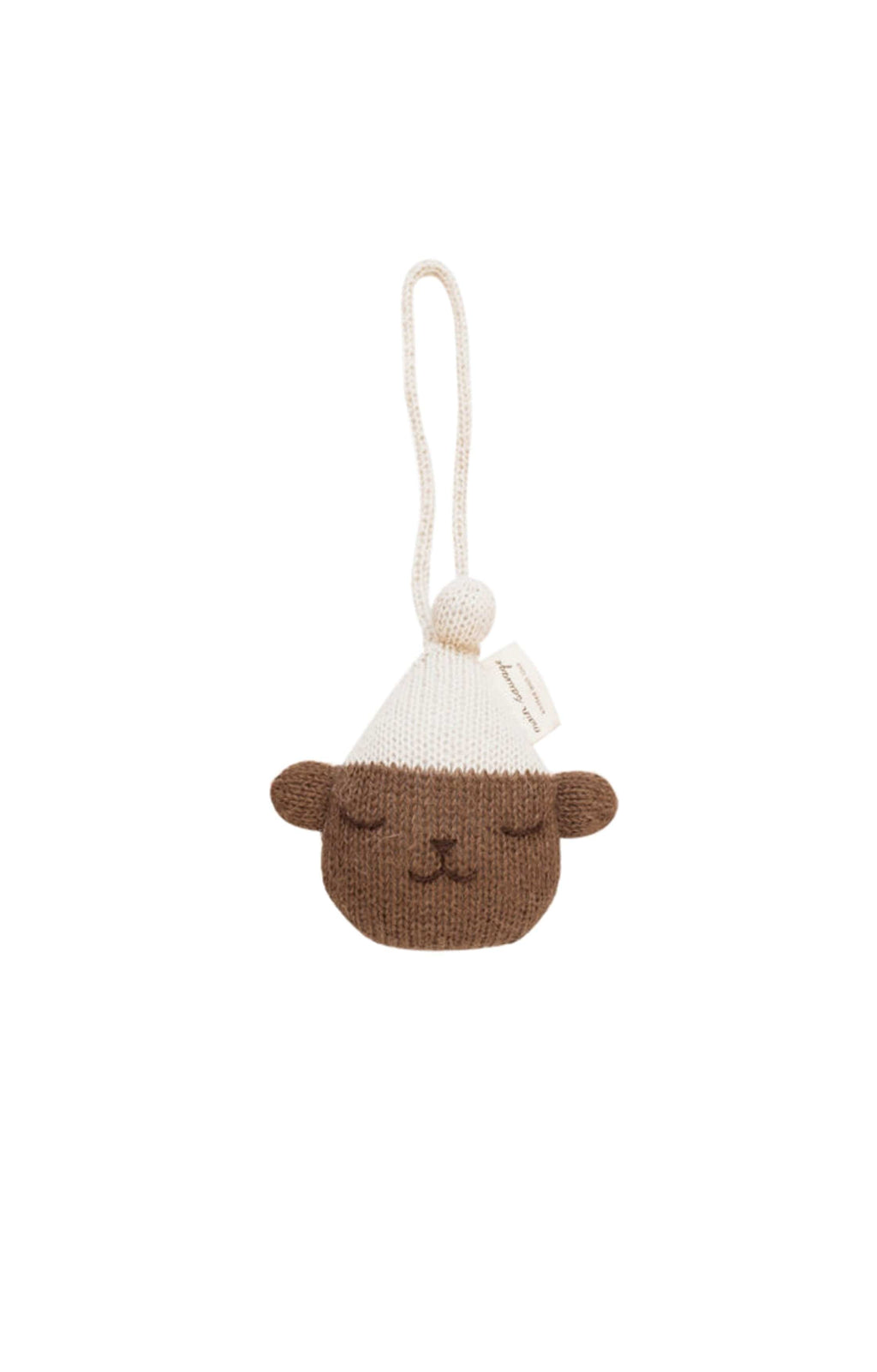 Main Sauvage teddy hanging rattle - Hello Little Birdie