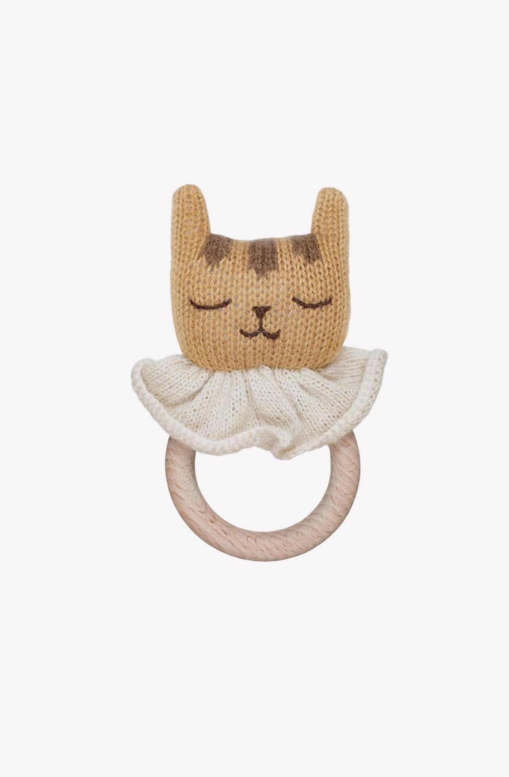 Main Sauvage Teething Ring, Tiger - Hello Little Birdie