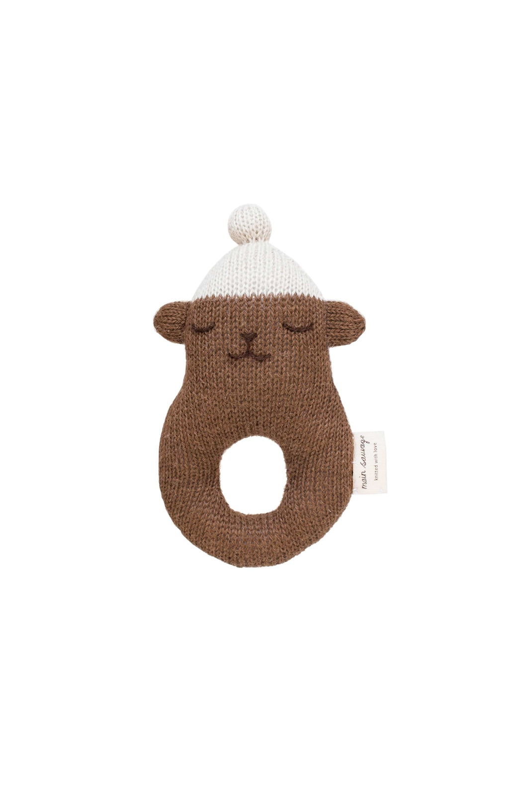 Main Sauvage Teddy Rattle