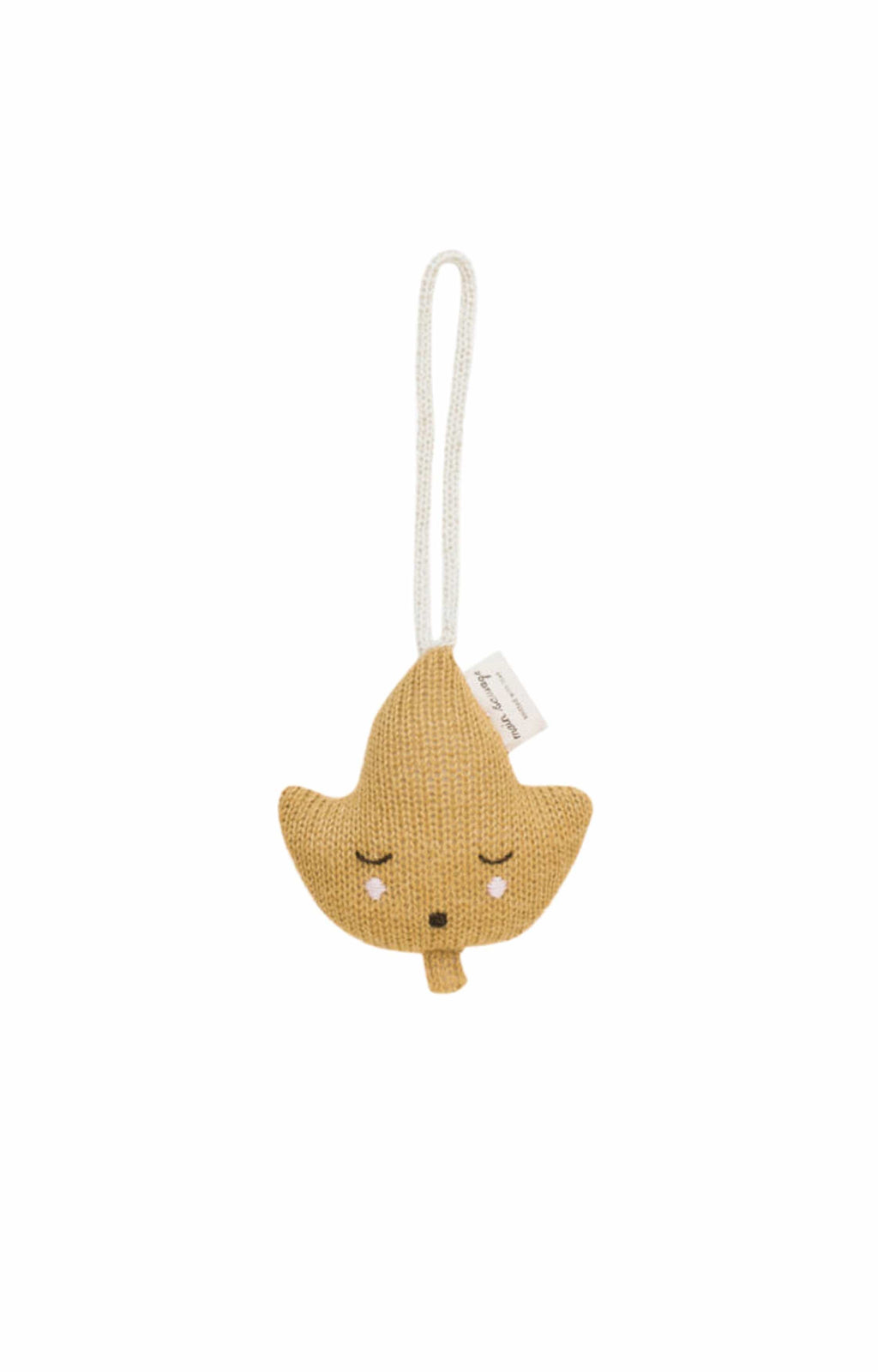 Main Sauvage leaf hanging rattle (PRE-ORDER NOV) - Hello Little Birdie