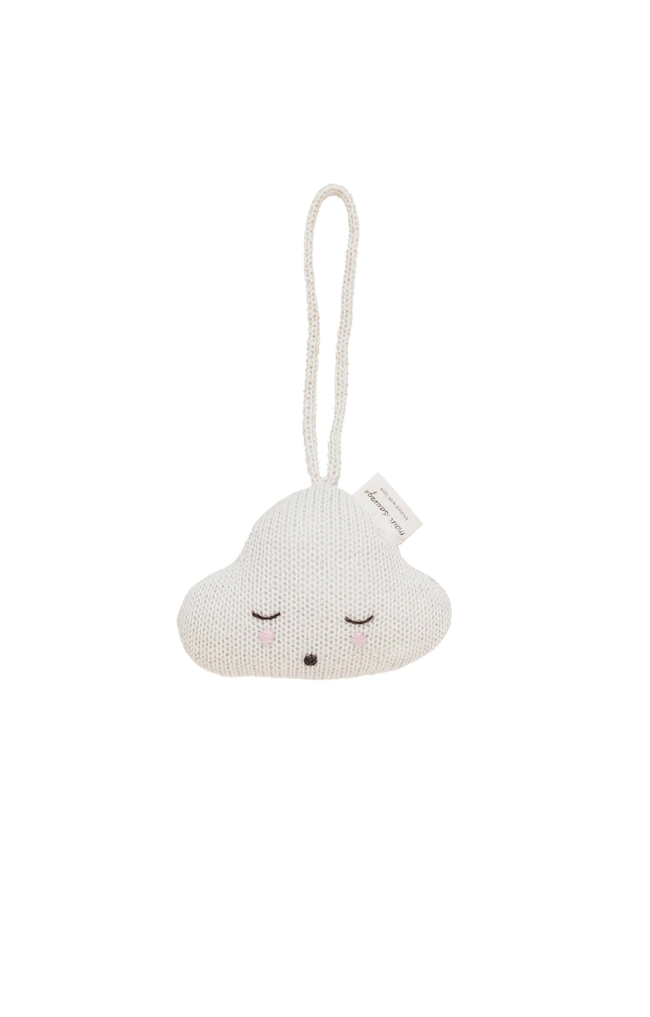 Main Sauvage cloud hanging rattle - Hello Little Birdie