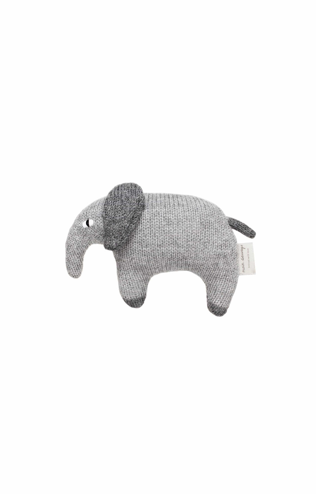 Main Sauvage Elephant Knit Toy - Hello Little Birdie
