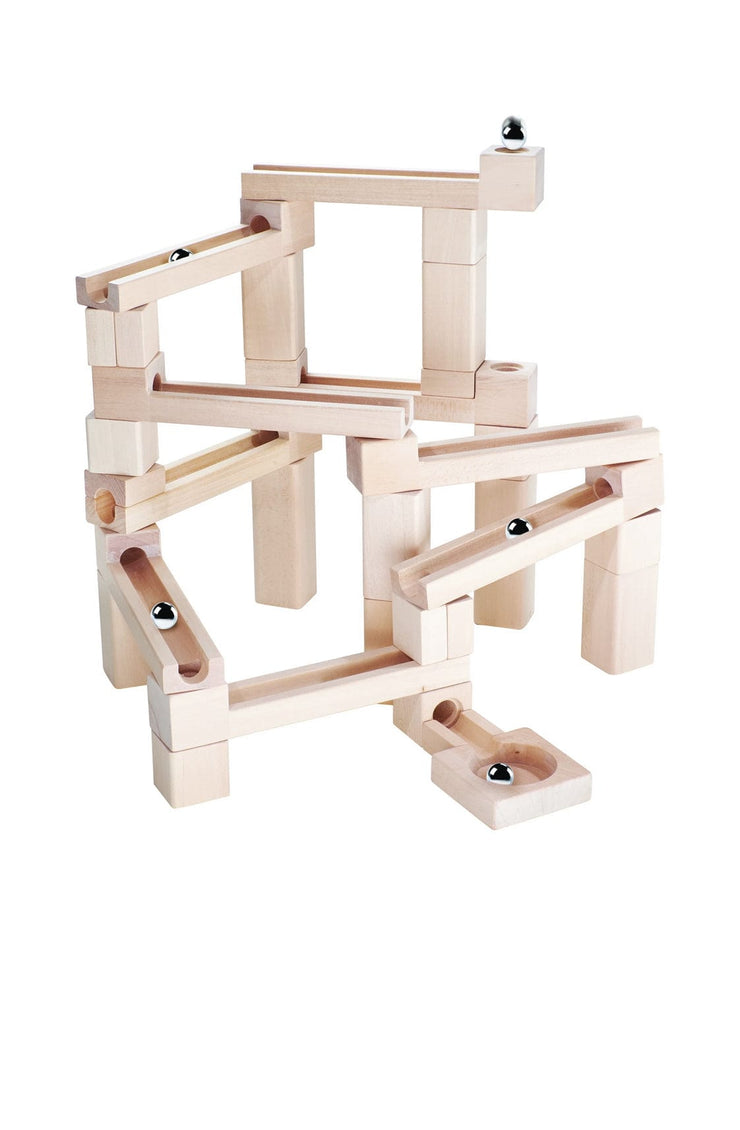 Kubi Dubi Wooden Marble Run - Hello Little Birdie