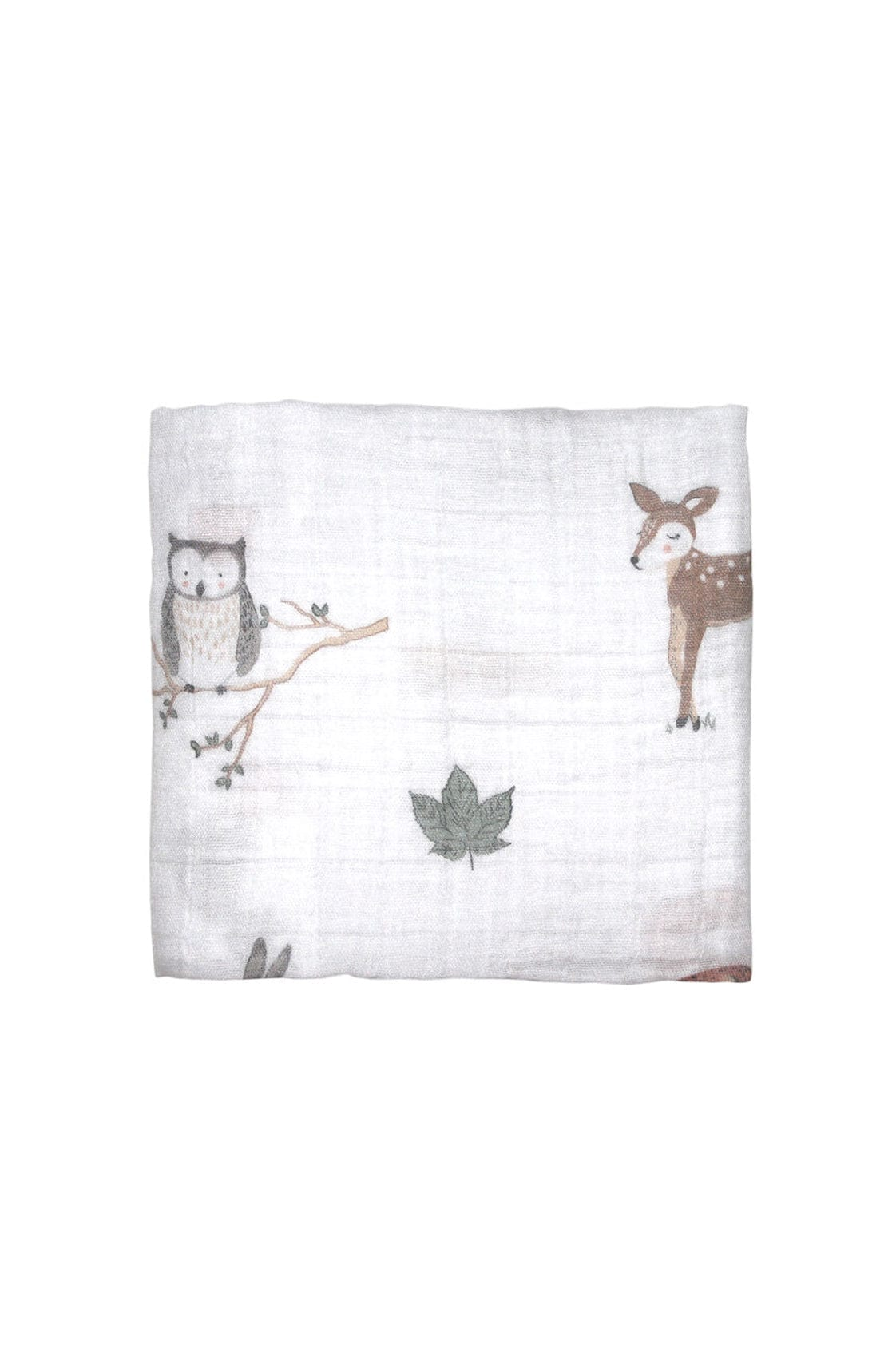 Mister Fly Woodland Muslin Wrap - Hello Little Birdie