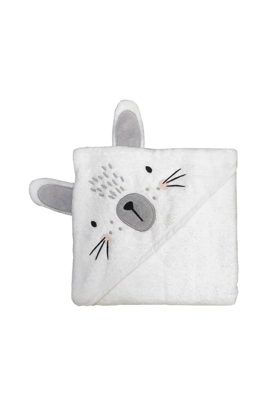 Mister Fly Bunny Hooded Towel - Hello Little Birdie